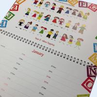 School Fundraising Calendar Printing