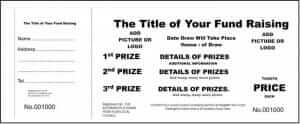 school raffle tickets low cost draw tickets for schools. Black Bedroom Furniture Sets. Home Design Ideas