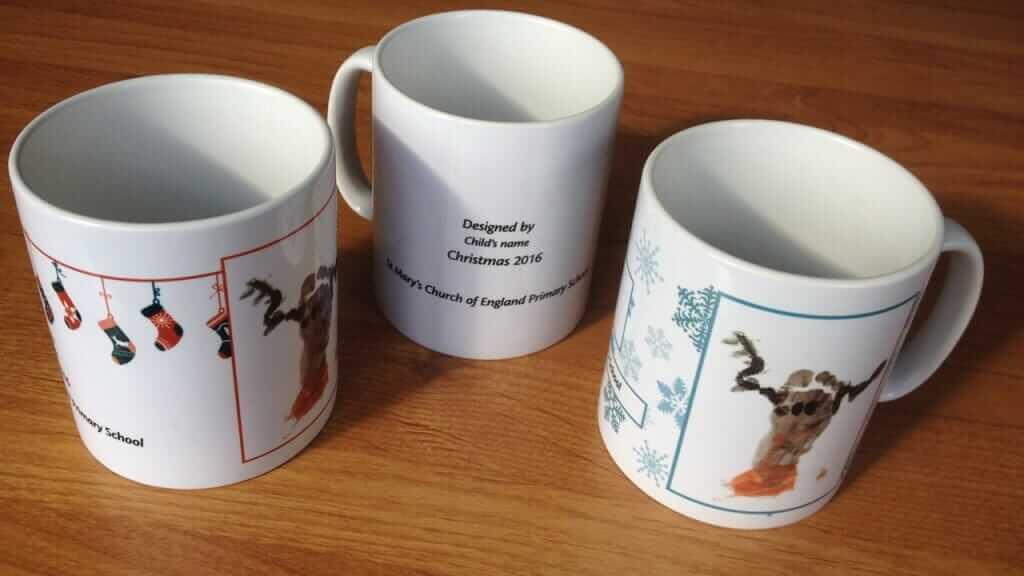 Christmas Fundraising Mugs 2016