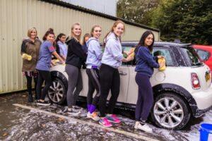 school charity car wash